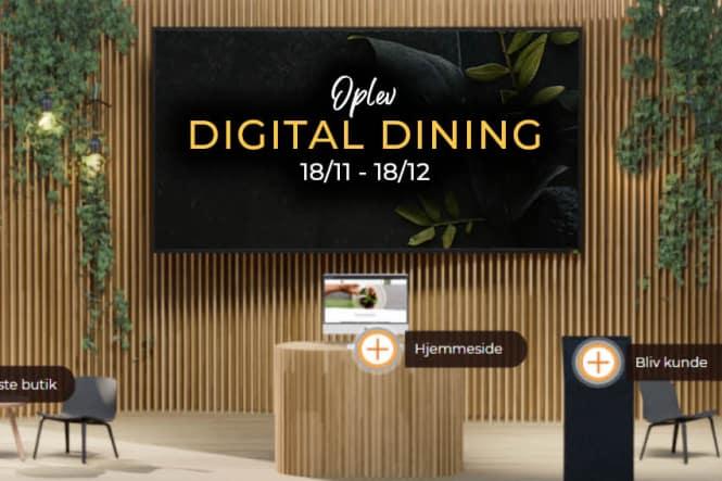 Oplev Digital Dining